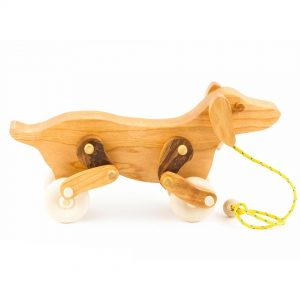 Fraser Wood Elements Articulated Dog