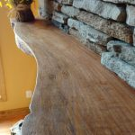Live Edge Mantel Fraser Wood Elements