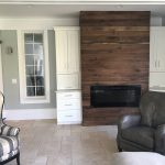 Walnut Fireplace Accent Wall e1552439454371