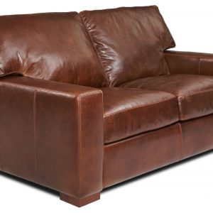 Danford two seat sofa side view