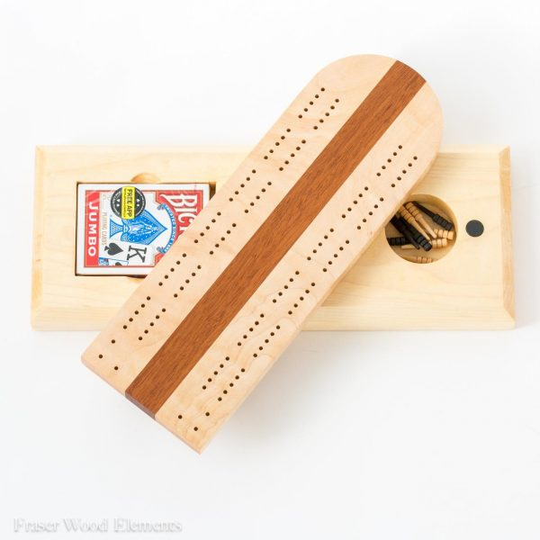Locally Made Cribbage Board