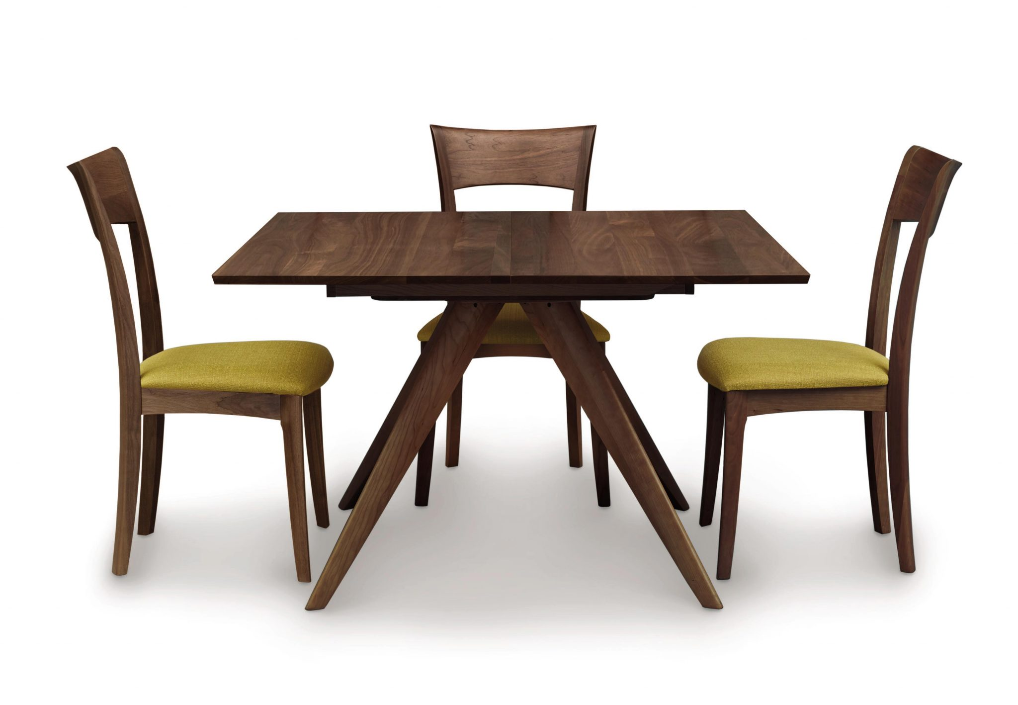 Catalina Square Extension Dining Table In Walnut