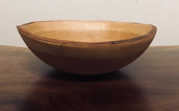 "11"" live edge cherry bowl"