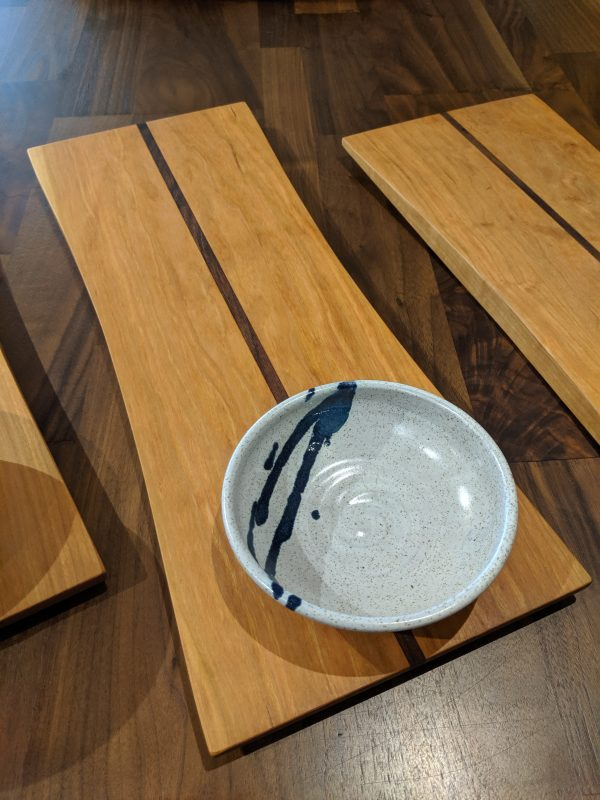 Option 1 Bread board and dipping bowl