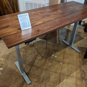 Adjustable desk by Fraser Wood Elements
