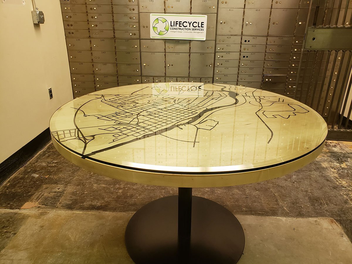 New Completed Project Alert! Life Cycle Table