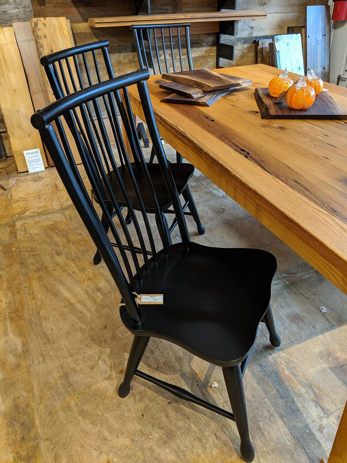 NEW Product Alert! Farm House Chairs Arrive at Fraser Wood Elements!