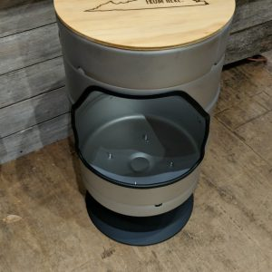 Keg Bar Height Bar Stool