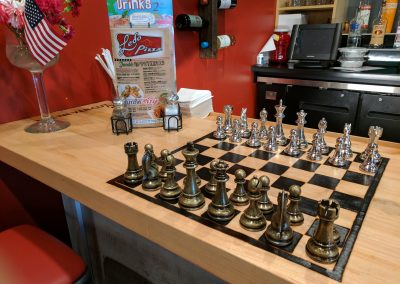 Ledos Pizza Maple Bar and Chess Section