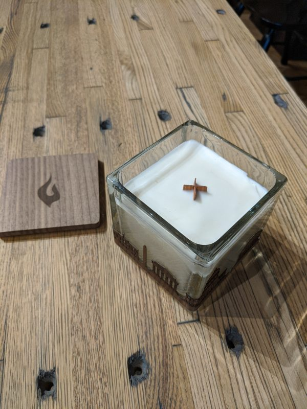 Wooden Wick for DC Candle