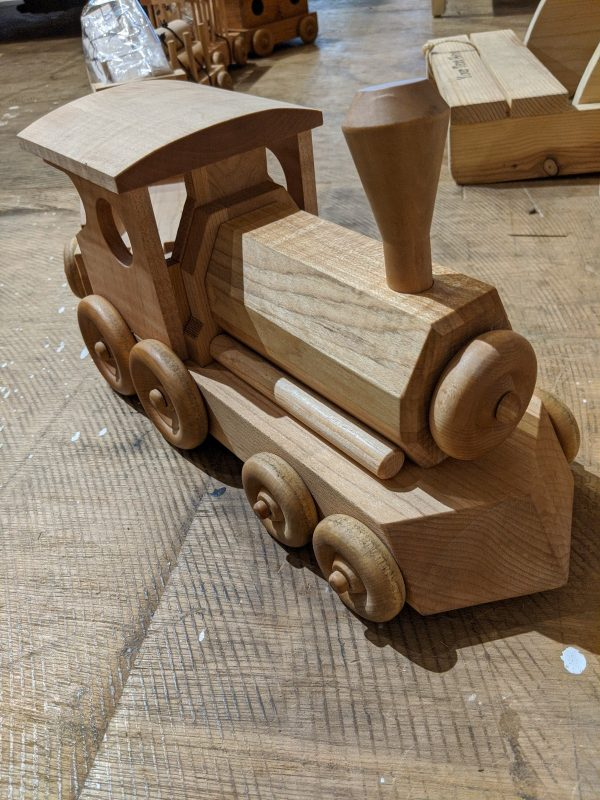 Solid Maple Train