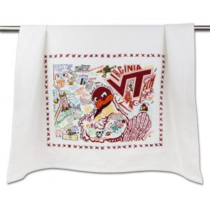virginia tech collegiate dish towel dish towel catstudio 360884 1024x1024@2x