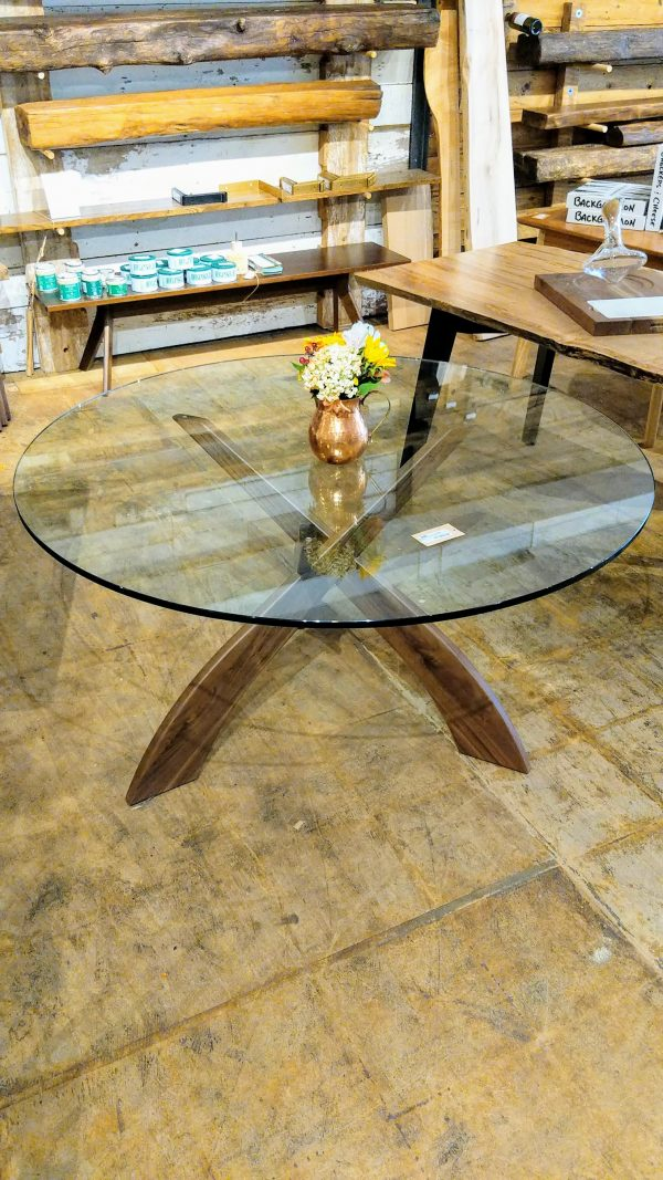 """54"""" Round Entwine Dining Table"""