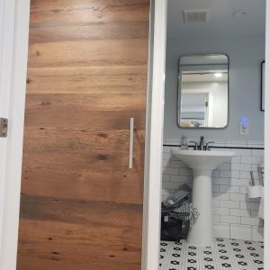 Bory Barn Door reclaimed oak