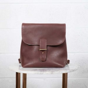 backpack brown front
