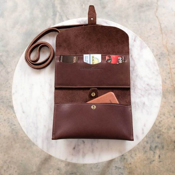 brown leather crossbody wallet open 1024x1024