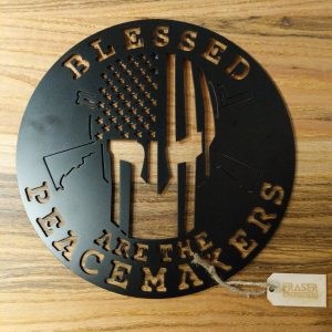 Blessed Are the Peacemakers Metal Emblem