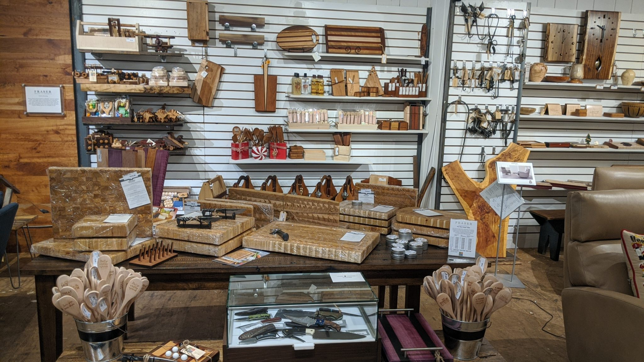 Holiday Gifts from Fraser Wood Elements