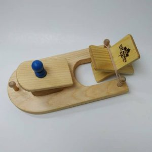 Wooden Paddle Boat 1