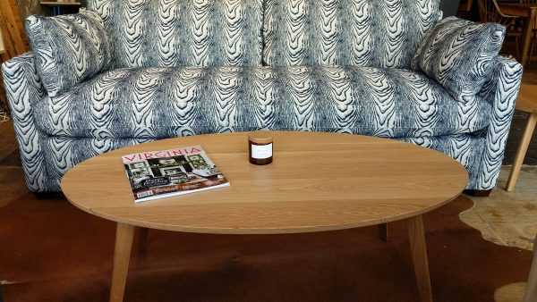 Catalina White Oak Coffee Table Fraser Wood Elements