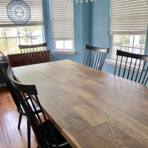 Solid Walnut Farm House Dining Table