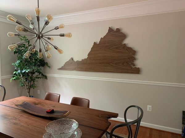 Large Virginia Cut Out