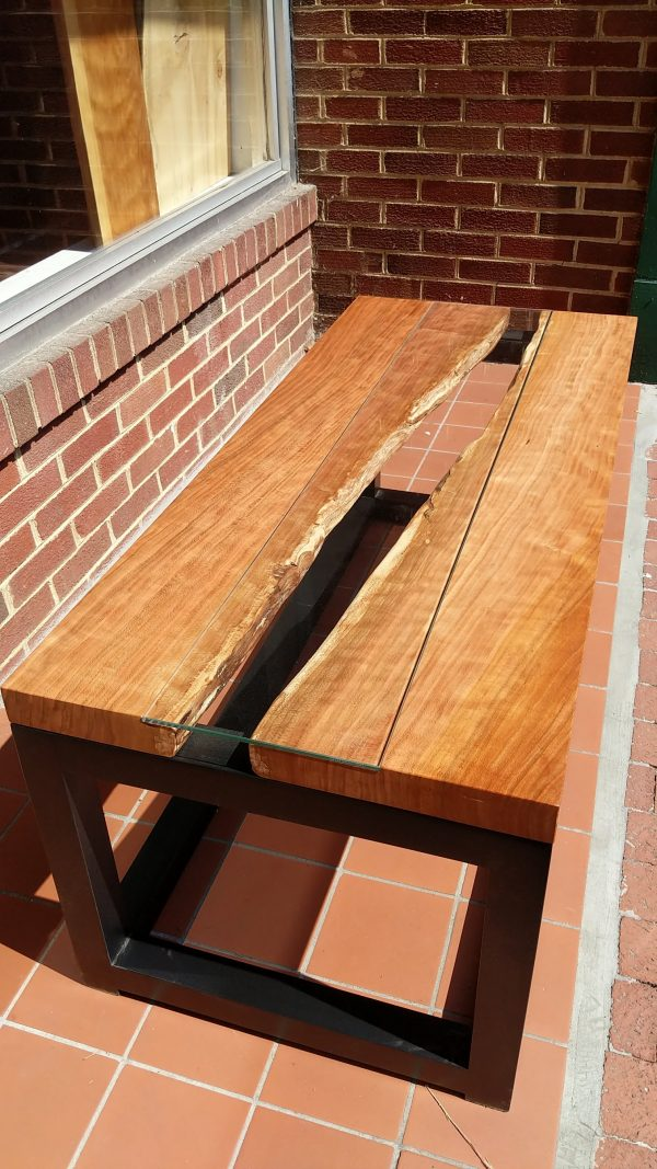Fraser Made Cherry live edge coffee table